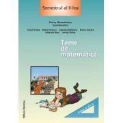 Tema de matematica - cl. a VII - a, semestrul II - Nomina
