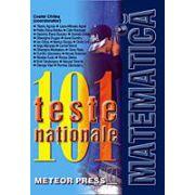 101 teste nationale de matematica