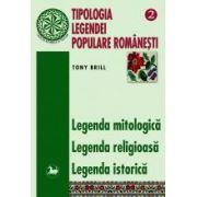 Tipologia legendei populare romanesti, vol II