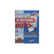 30 Chestionare auto - 780 intrebari