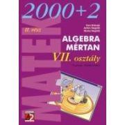 ALGEBRA. MÉRTAN. VII OSZTALY. II RESZ (2002-2003)
