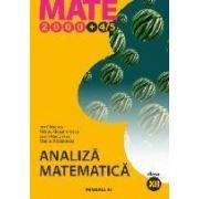 ANALIZA MATEMATICA. CLASA A XII-A (MATE 2000+4/5)