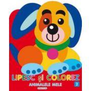 Lipesc si colorez animalele mele 2