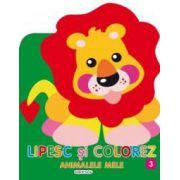 Lipesc si colorez animalele mele 3