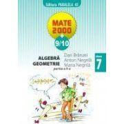 Algebra, geometrie - clasa a VII-a, partea a II-a (anul scolar 2009-2010)