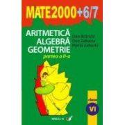 ARITMETICA. ALGEBRA. GEOMETRIE. CLASA A VI-A. PARTEA II (2006-2007)