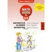 Aritmetica, algebra, geometrie, clasa a V-a, partea I (anul scolar 2008-2009)