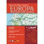 Atlas rutier compact Europa