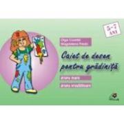 CAIET DE DESEN PENTRU GRÃDINITÃ. GRUPA MARE, GRUPA PREGÃTITOARE (5-7 ANI)