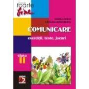 COMUNICARE. CLASA A II-A. EXERCITII, TESTE, JOCURI (editia a II-a, revizuita)