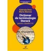 Dictionar de terminologie literara pentru clasele V-X, ed. 6
