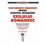 Documente franceze privind inceputul organizarii exilului romanesc