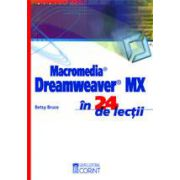 MACROMEDIA DREAMWEAVER MX IN 24 LECTII