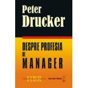 Despre profesia de manager
