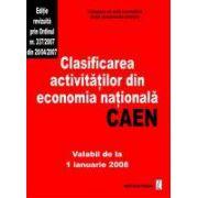 Clasificarea activitatilor din economia nationala-CAEN