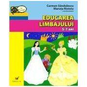Educarea limbajului, Activitati matematice, Cunoasterea mediului - Set gradinita 5-7 ani