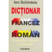 Dictionar Francez - Roman De Cuvinte, Expresii Si Locutiuni