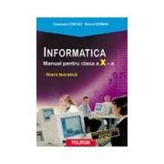 Informatica. Manual pentru clasa a X-a