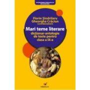 MARI TEME LITERARE. DICTIONAR-ANTOLOGIE DE TEXTE PENTRU CLASA A IX-A