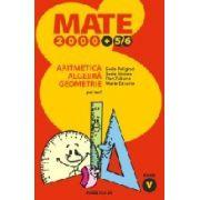 MATE 2000 +5/6 - ARITMETICA. ALGEBRA. GEOMETRIE. CLASA A V-A. PARTEA I. ANUL SCOLAR 2005-2006