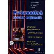 Matematica -testare nationala