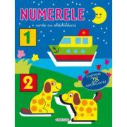 Numerele - carte cu abtibilduri