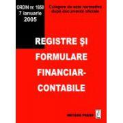 Registre si formulare financiar-contabile