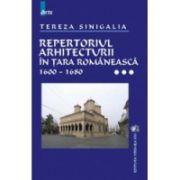Repertoriul arhitecturii in Tara Romaneasca vol. III