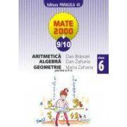 Aritmetica, algebra, geometrie - clasa a VI-a, partea a II-a (anul scolar 2009-2010)