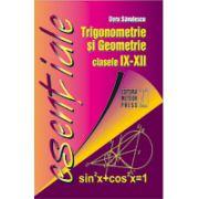 Trigonometrie si Geometrie - clasele IX-XII