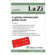Legislatia administratiei publice locale (actualizat la 01. 09. 2009). Cod 363