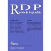 Revista de Drept Public, nr. 4/2005