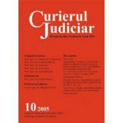 Curierul Judiciar, Nr. 10/2005