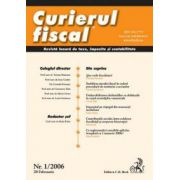 Curierul fiscal, nr. 1/2006