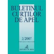 Buletinul Curtilor de Apel Nr. 2/2007