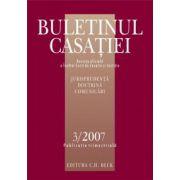 Buletinul Casatiei, Nr. 3/2007