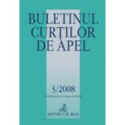 Buletinul Curtilor de Apel, Nr. 3/2008