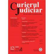 Curierul Judiciar, Nr. 12/2009