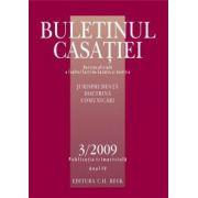 Buletinul Casatiei, Nr. 3/2009