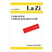 Codul civil si Codul de procedura civila (actualizat la 25.05.2009). Cod 352