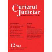 Curierul Judiciar, Nr. 12/2005