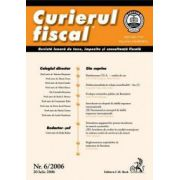 Curierul fiscal, nr. 6/2006