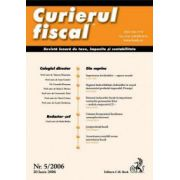 Curierul fiscal, nr. 5/2006