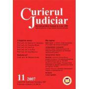 Curierul Judiciar, Nr. 11/2007