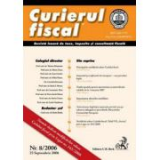 Curierul fiscal, nr. 8/2006