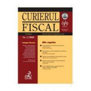 Curierul fiscal nr. 1/2008