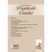 Noua Revista de Drepturile Omului, nr. 3/2007