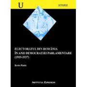 ELECTORATUL DIN ROMANIA IN ANII DEMOCRATIEI PARLAMENTARE (1919-1937)