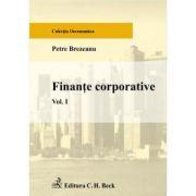 Finante corporative. Volumul I