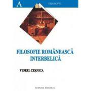 FILOSOFIE ROMANEASCA INTERBELICA